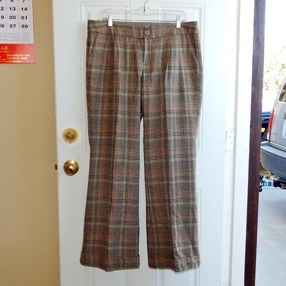Mossimo Supply Co. Pants - MOSSIMO Vintage Houndstooth Slacks RN17730